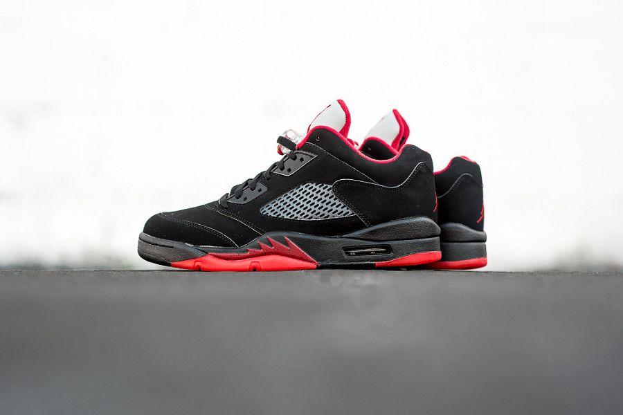 k-Air-Jordan-5-Retro-Low-Black-Gym-Red-Metallic-Silver