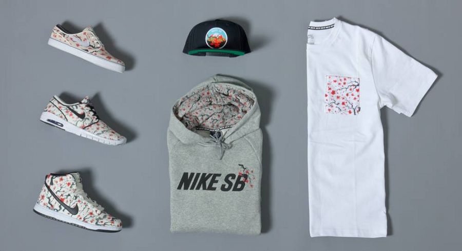 "cf8a62107dae k-12810264 10204195771895021 1239422580 o. Today the Nike SB ""Cherry  Blossom Pack"" ..."