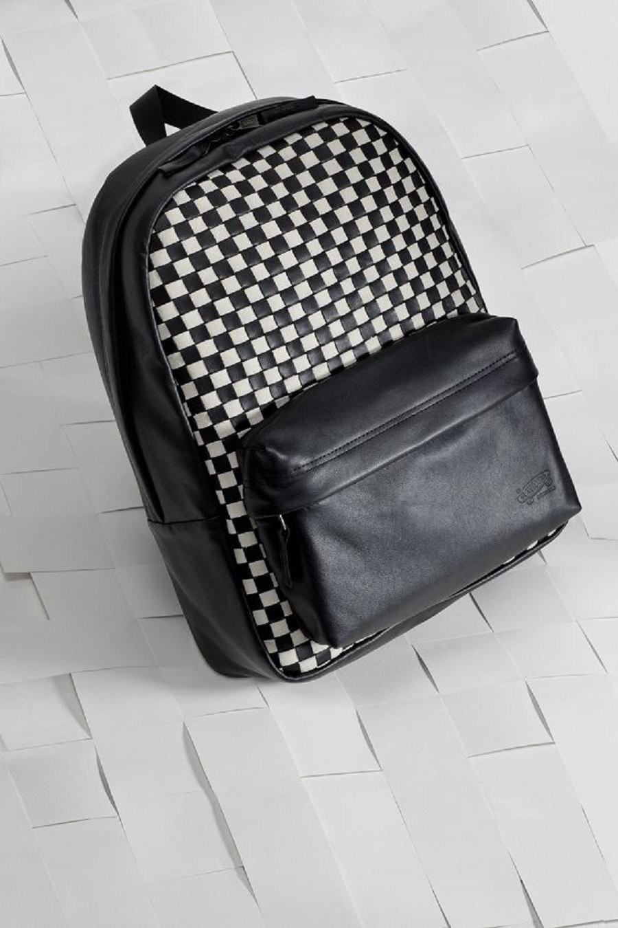 k-SP16_Vault_WovenCheckerboard_BlackandWhite_Backpack_Product_0207_w1