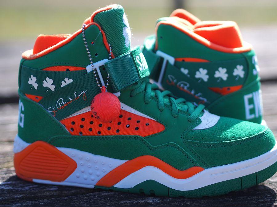 patrick ewing's shoes