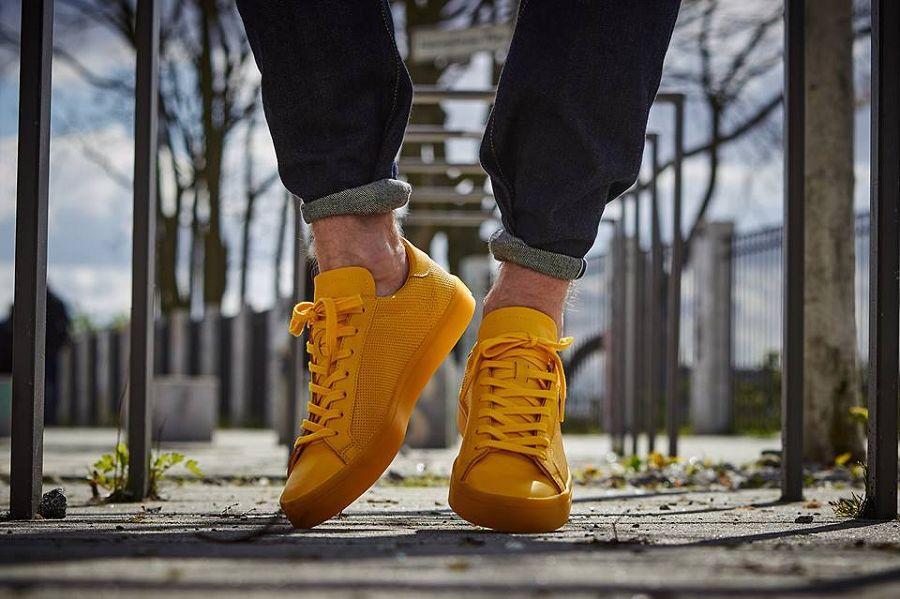 6 Monochromatic adidas Court Vantage Adicolor Released