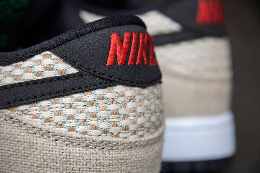 k-Nike SB Dunk Low Premium 420 Hemp Bamboo Black White d5