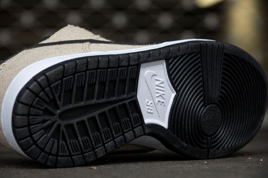 k-Nike SB Dunk Low Premium 420 Hemp Bamboo Black White d7