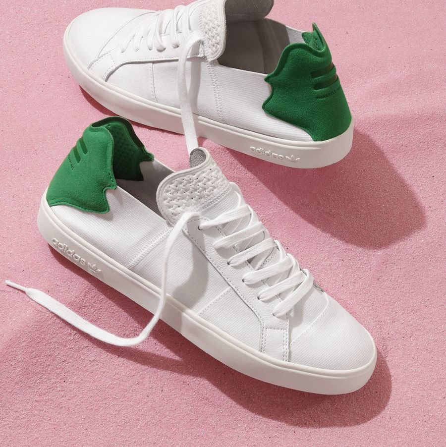 k-adidas Originals = PHARRELL WILLIAMS Pink Beach Footwear (1)