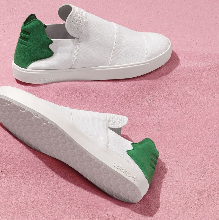 k-adidas Originals = PHARRELL WILLIAMS Pink Beach Footwear (2)