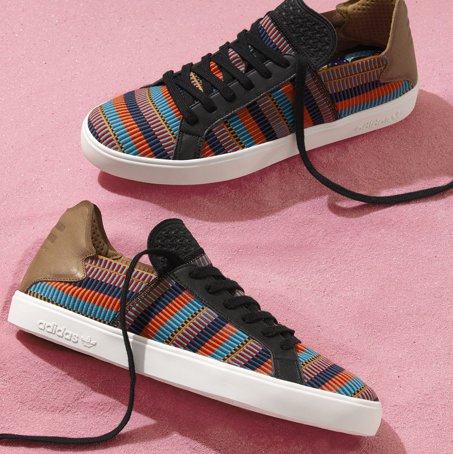 k-adidas Originals = PHARRELL WILLIAMS Pink Beach Footwear (3) - Kopie