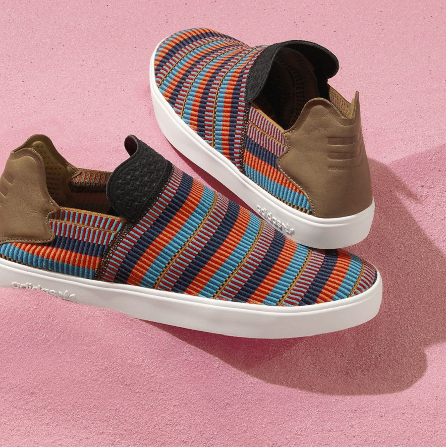 k-adidas Originals = PHARRELL WILLIAMS Pink Beach Footwear (4)