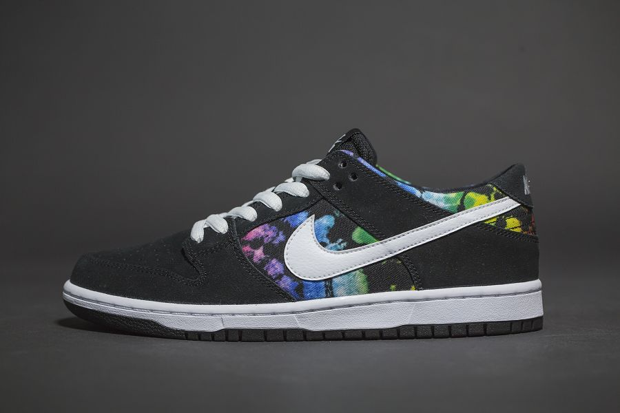 "the latest 27c4e 4095a A total of six color ways of the not quite new anymore Nike Dunk Low SB ""Ishod  Wair"" have been released now. The latest one is the ""Tie Dye"" that we see  ..."