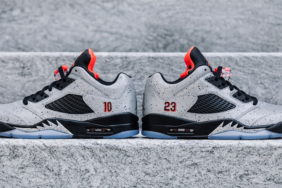 new products 967b6 133f3 Close Up Images Of The Air Jordan 5 Low