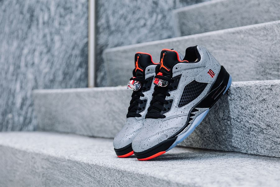 new products f2271 9cab4 Close Up Images Of The Air Jordan 5 Low