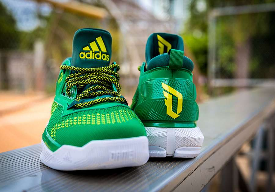 k-adidas-DLillard-2-oakland-Green-Yellow-5
