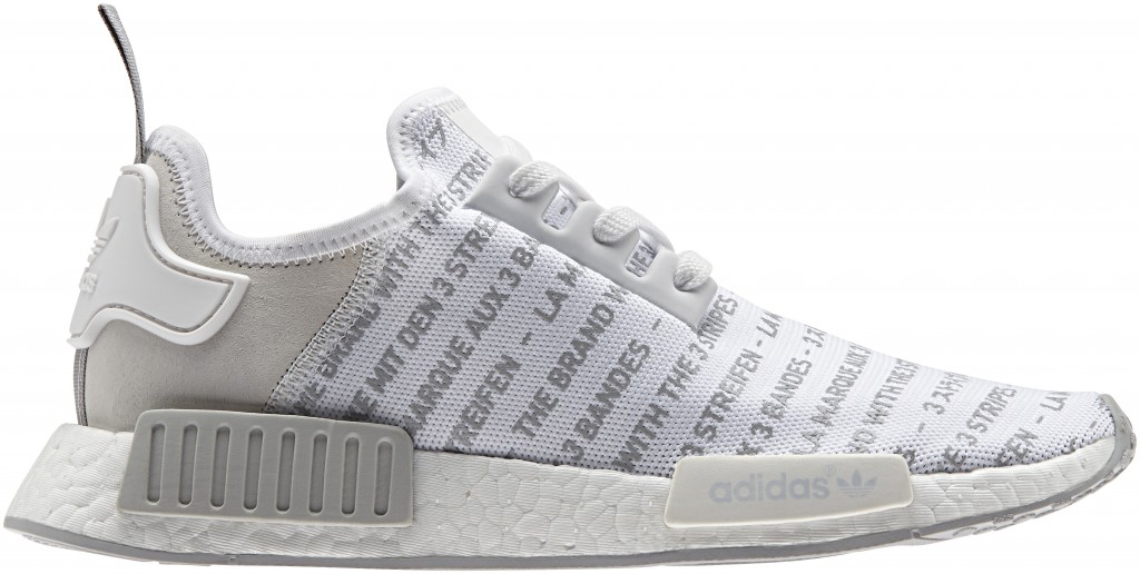 Adidas NMD R1 Whiteout Blackout Pack