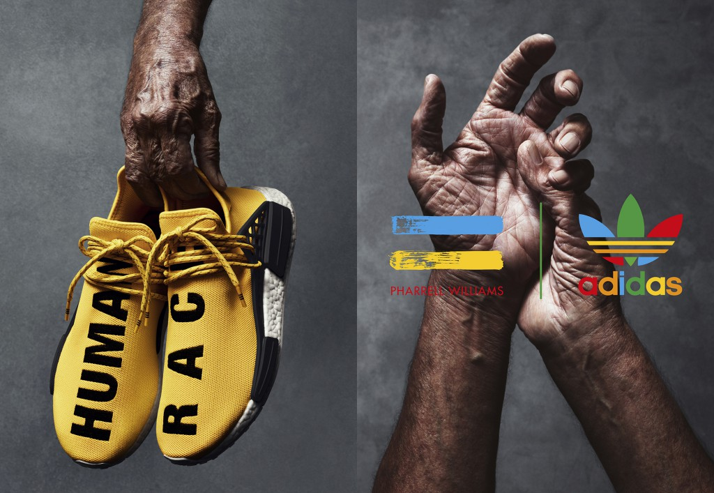 Pharrell Williams Adidas Nmd Menneskelige Rase Pris YH9pSffMg