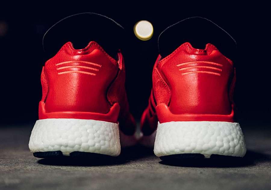3abaee473 adidas Skateboarding Busenitz Pure Boost In Scarlet Red