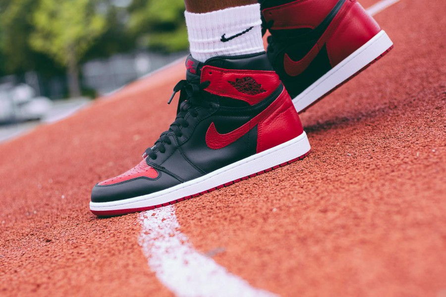 "on sale a3c91 a25e3 Nike Air Jordan 1 BRED ""Banned"" – Release Info"