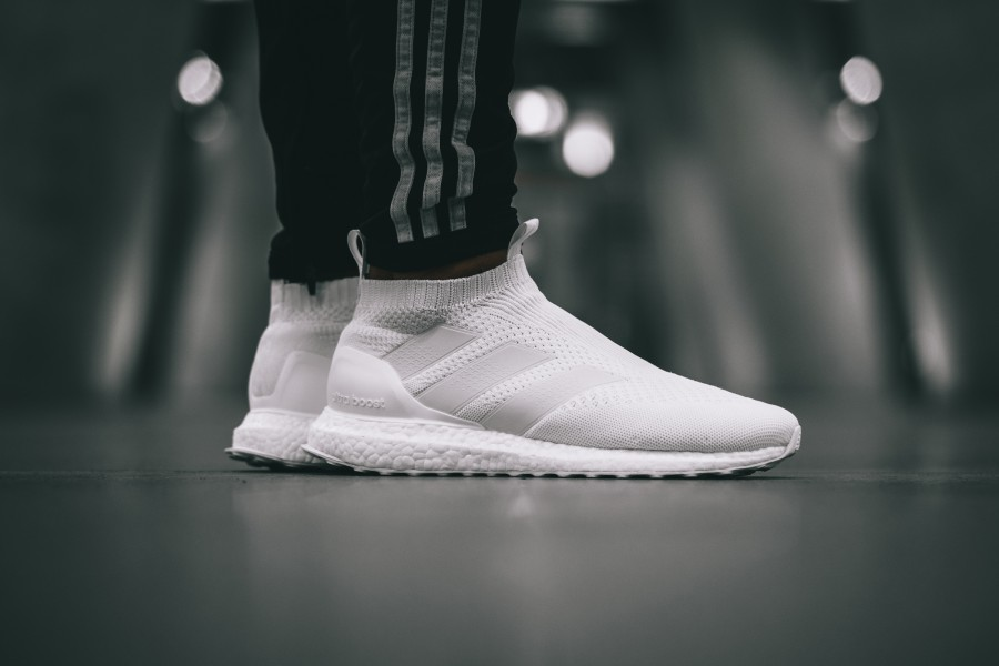 f045efd61ee27 adidas ACE 16+ Purecontrol Ultra Boost – all whiteadidas ACE 16+ Purecontrol  Ultra Boost – all white