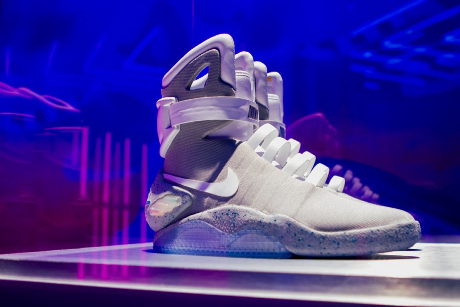 65f91a3b2f80b The Nike Air Mag Was Sold For 100.000
