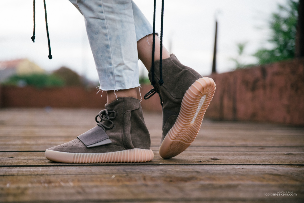 adidas X KANYE WEST - YEEZY BOOST 750 LIGHT BROWN