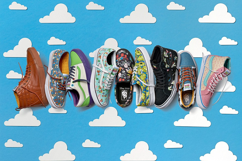 Vans Toy Story low