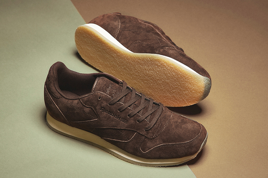 size? x Reebok – Classic Leather with Crepe Soles Sneakers