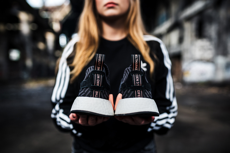 3874a16f7a474 NMD R2 Women s Shoot by  knucklerkane - Sneakers Magazine