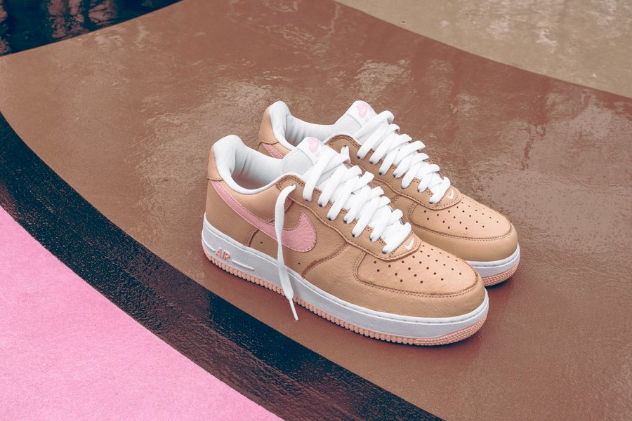 Nike x Kith Air Force 1 Linen Sneakers Magazine