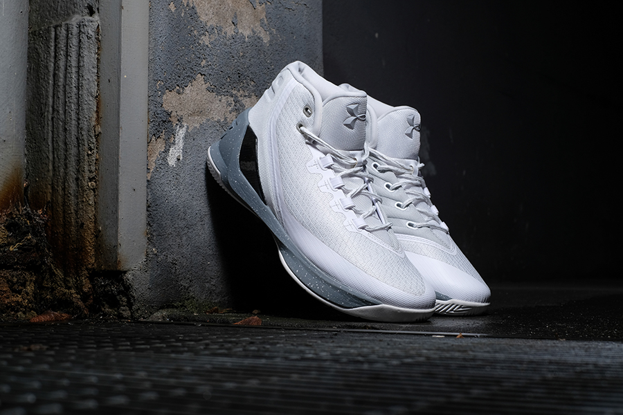 a0e73f527a4 Under Armour Curry 3 - White and Grey colorway - Sneakers Magazine