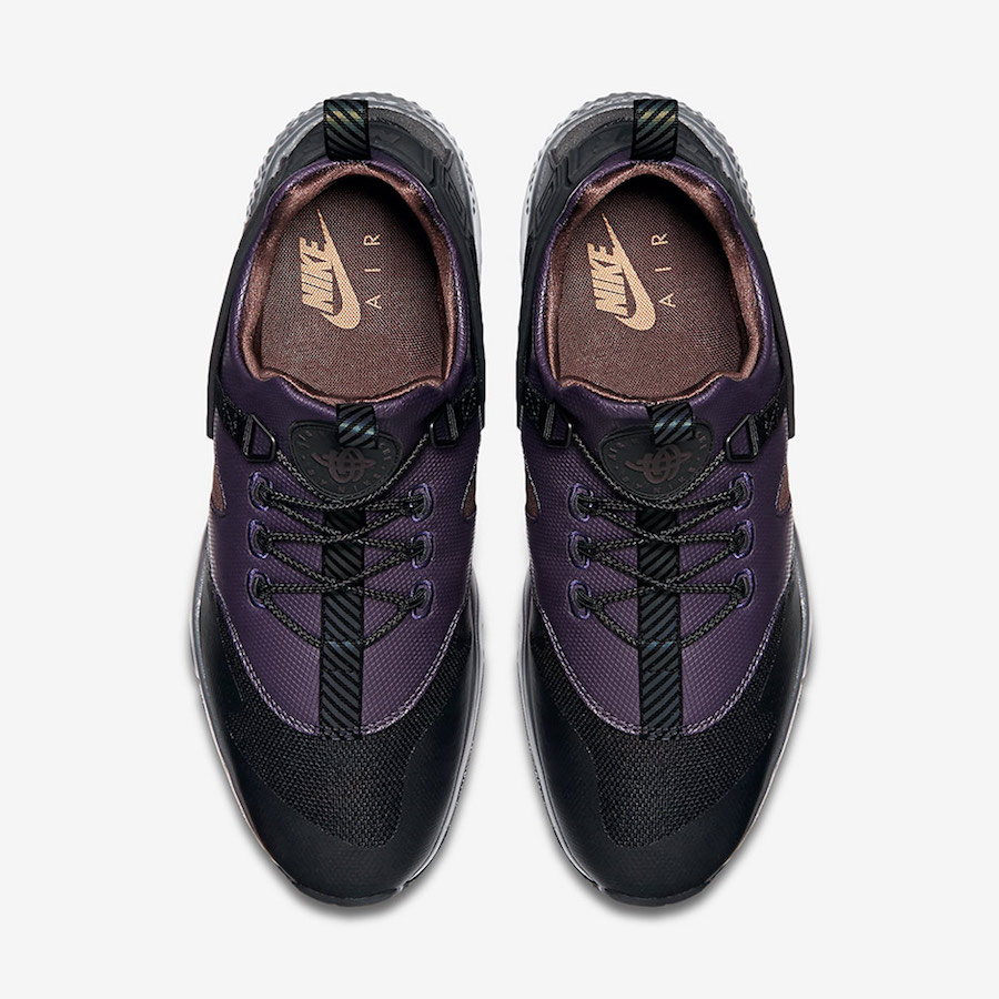 nike-air-huarache-utility-black-purple-brown-3