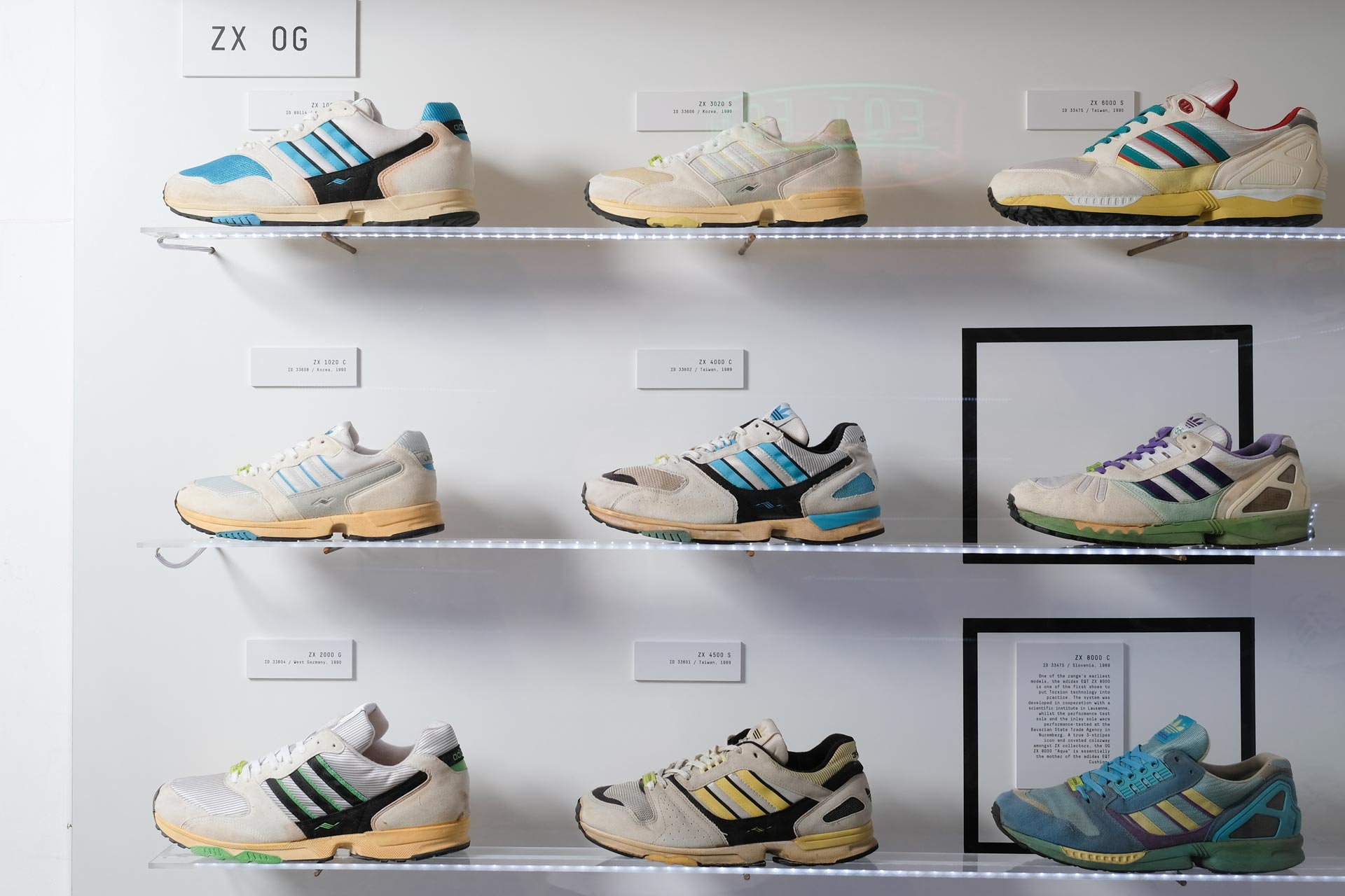 official photos 0e4fd 371b1 A Closer Look From Then to Now – adidas Originals EQT Exhibition