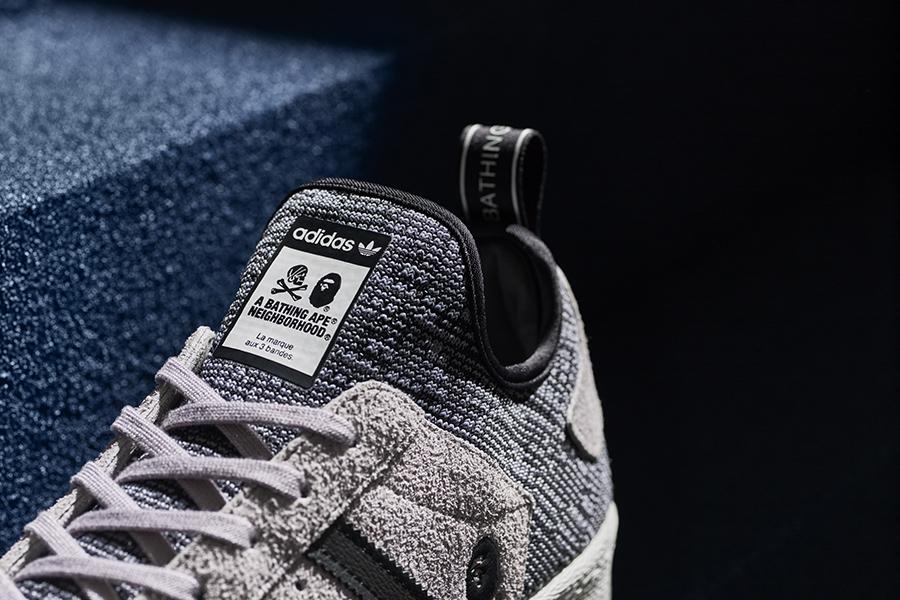 11c4195bddc0 adidas Originals - BAPE X Neighborhood Superstar BOOST - Sneakers ...