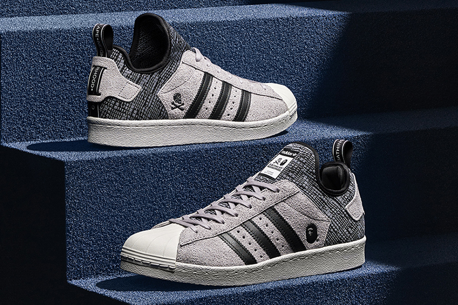 698234c4de23 The strictly-limited adidas Originals BAPE X Neighborhood Superstar BOOST  will release on February 4 at select retailers.
