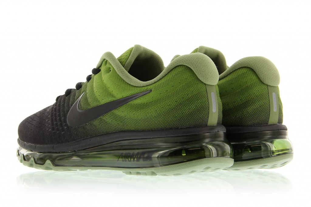 a9b723f07dd The NIKE AIR MAX 2017 (BLACK PALM GREEN) ist available via stores such as  Titolo now!