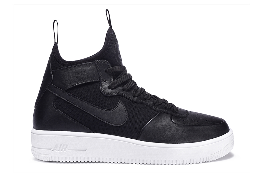 Nike AF 1 Ultra Force Mid Black Black