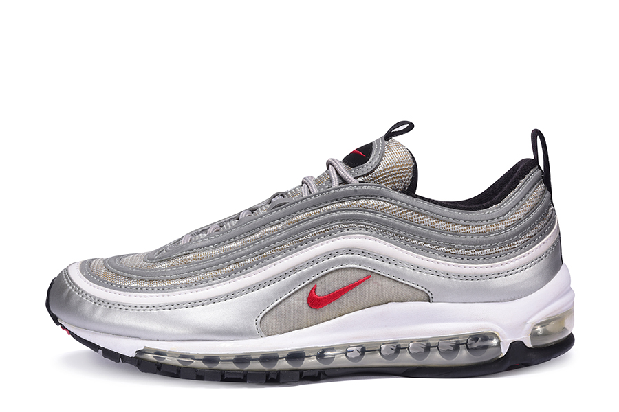 Nike AM 97 OG Metallic Silver Rusty Red