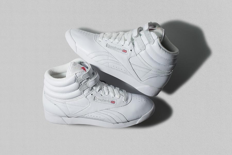 Reebok Freestyle Hi Fitness Women's High Top Sneaker F
