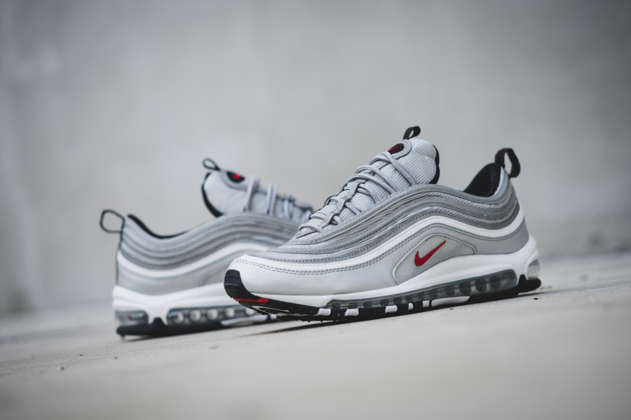 "b789f3d476 The Air Max 97 ""Silver Bullet"" Will Be Restocked Next Week"