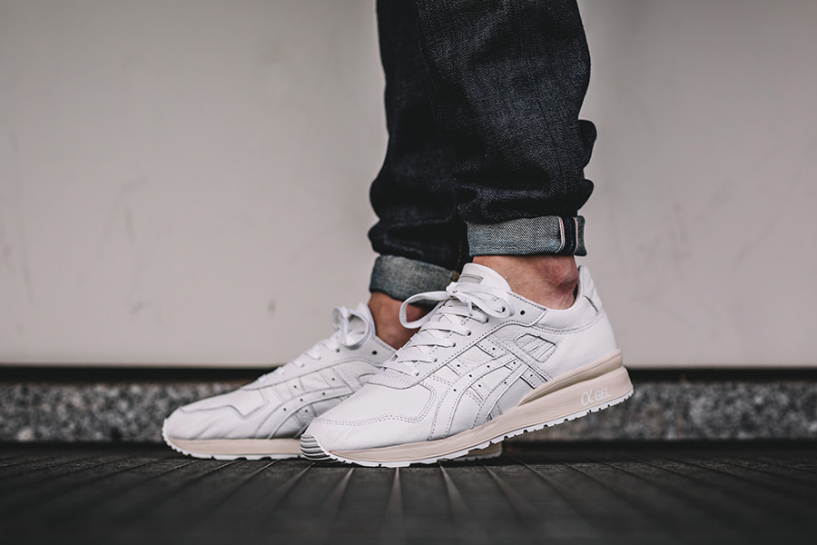 innovative design 11a47 115a4 ASICS Tiger GT-II All White Soft Leather out now - Sneakers ...