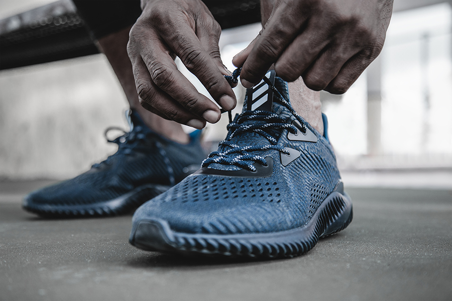 online store 3703e 14a12 A Close Look at the New adidas alphabounce ams Silhouette -