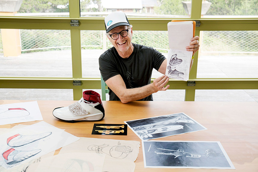 52a678eea133 Watch Nike Designer Tinker Hatfield in New Documentary on Netflix ...
