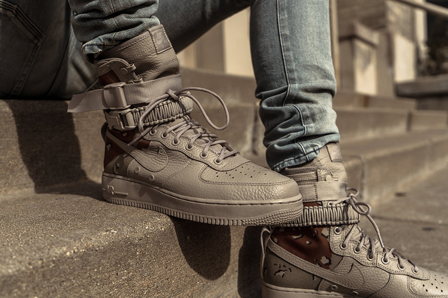 Nike Special Field Air Force 1 Quot Desert Camo Quot Drops Today