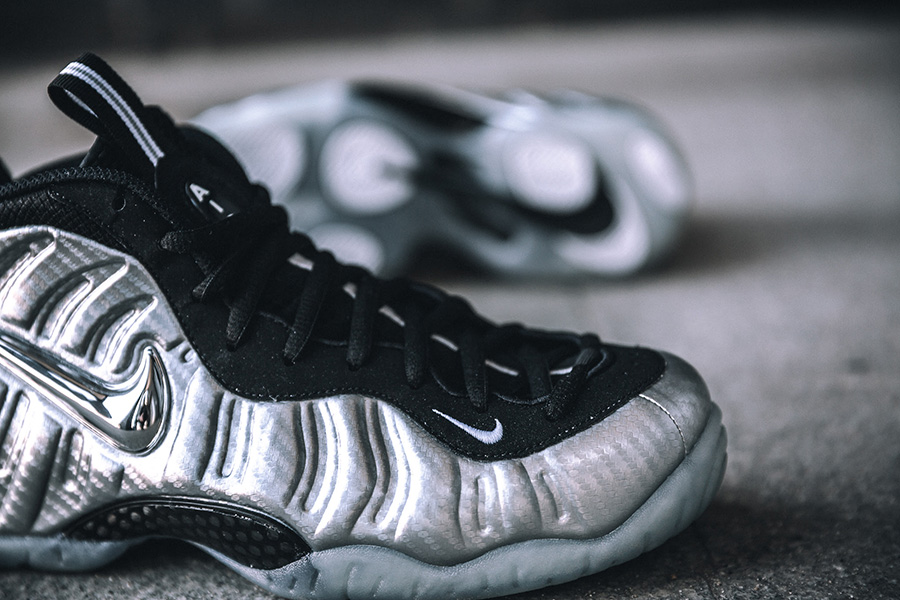 """8e8085d26a2ca The NikeAir Foamposite Pro """"Silver Surfer"""" will drop in a limited edition  run on March 17"""