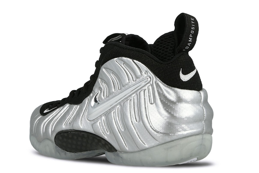 """a539d3d24d012 The NikeAir Foamposite Pro """"Silver Surfer"""" is Back - Sneakers Magazine"""