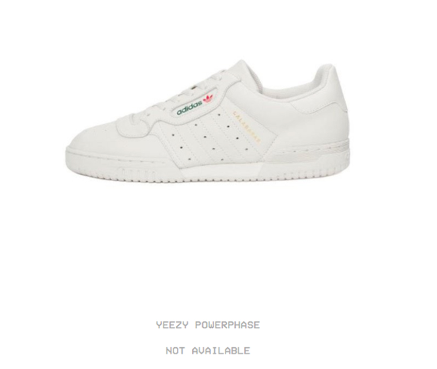 3ba45ee6f23dbc The new Calabasas collection streetwear collection will drop exclusively on  the YEEZY Supply website. Here is the direct link to the Yeezy Powerphase  ...