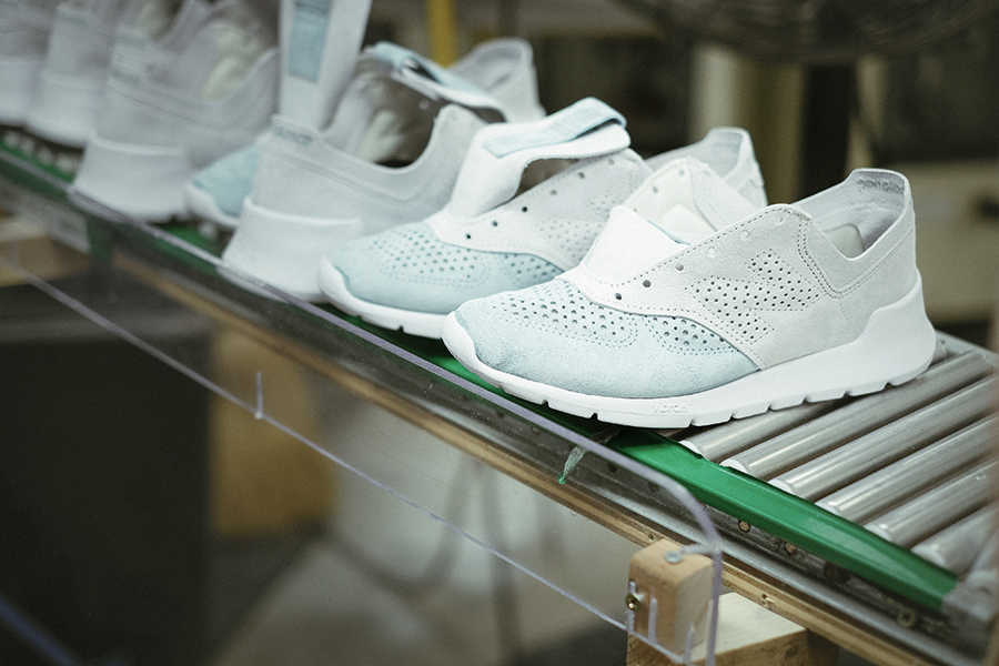 Manufacturing of the New Balance 1978