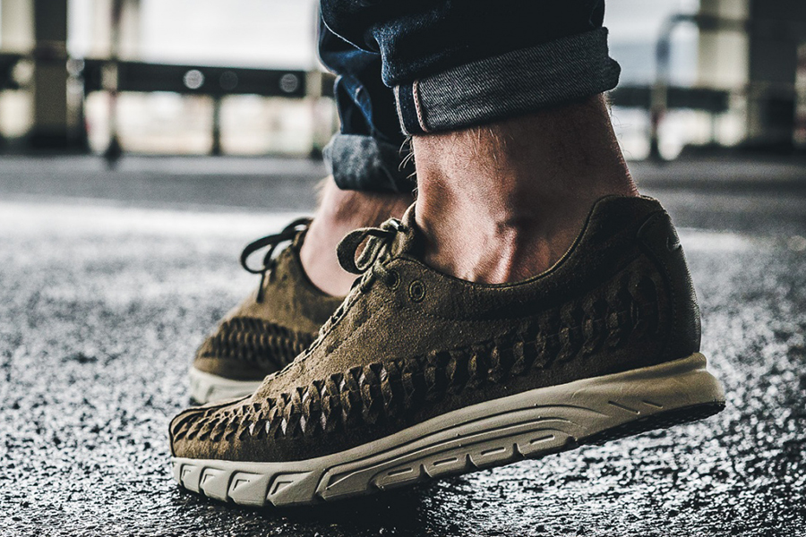 best service 299fa 021ab On-Feet Look at the Nike Mayfly Woven in Brown