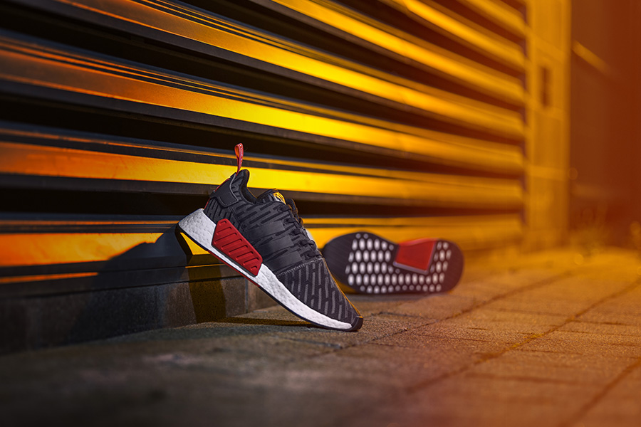 ce4e8766a8e5e The adidas Originals NMD R2 silhouette is out now and available exclusively  at Foot Locker Europe in the colorways Core Black Solid Grey and Night ...