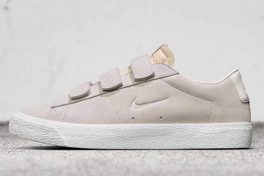 c7692db886fa The Numbers Edition x Nike SB Blazer Low AC is now available online and at  select skate shops with a  85.00 price tag. A collection of polo shirts and  ...