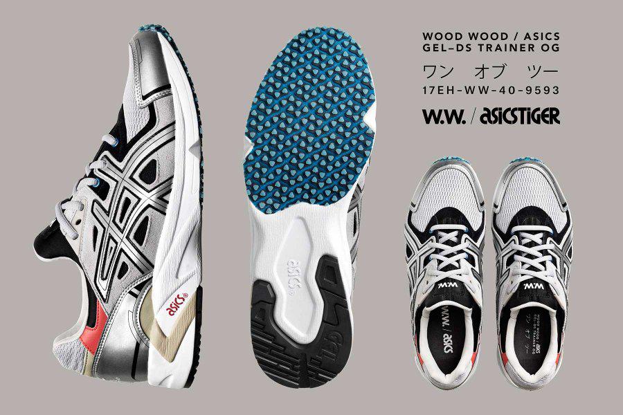 Wood Wood x ASICS GEL–DS Trainer OG Sneakers Magazine