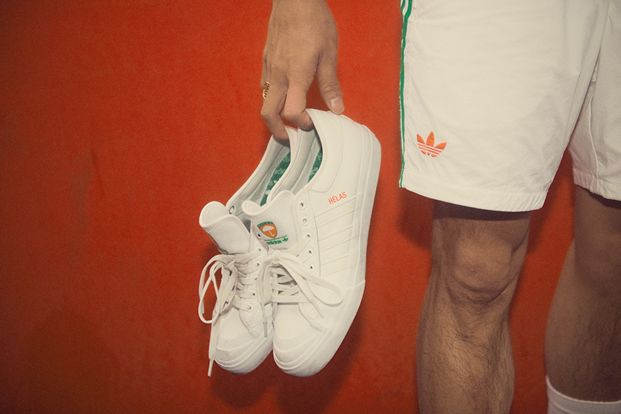 separation shoes 6a9c5 ea141 adidas Skateboarding x Hélas Capsule Collection - Sneakers ...