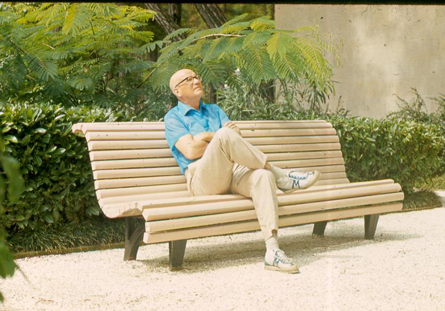 Urho Kekkonen wearing Karhu sneakers